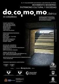 Flyer DocoMoMo 2016 Donostia
