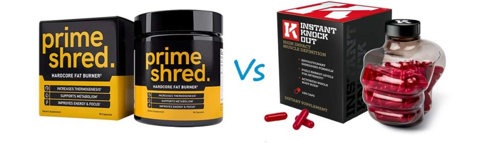 PrimeShred vs Instant Knockout Garciniacambogiaofficial
