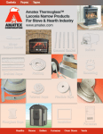 Amatex Thermoglass Stove Products