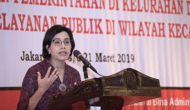 Sri Mulyani : 'Camat Ujung Tombak Maju Mundurnya Negeri Ini!'
