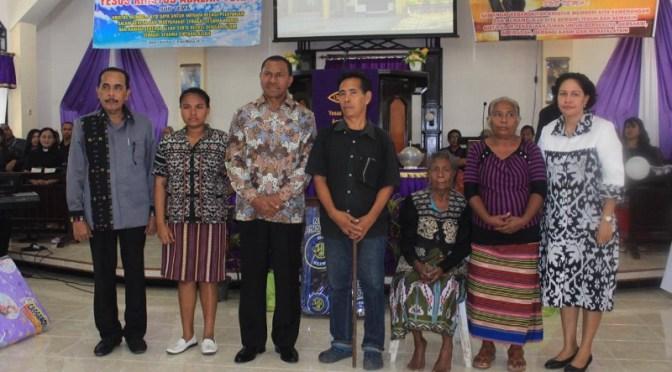 Wakapolda NTT & Ketua Sinode GMIT Apresiasi HUT Ke-56 Gereja Bait El Penfui