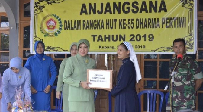 HUT ke 55, Dharma Pertiwi Koorcab NTT Laksanakan Ziarah dan Anjangsana
