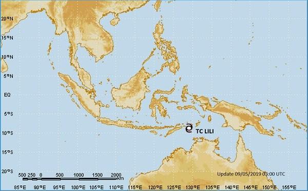 Siklon Tropis Lili di Laut Timor, Berpotensi Ancaman Cuaca Ekstrim