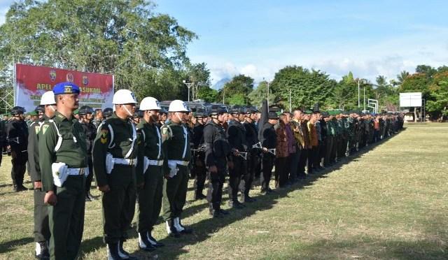 Kunker Presiden Jokowi di Belu, Korem/161 WS Gelar Pasukan Pengamanan VVIP
