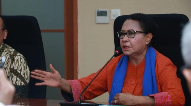 Menteri Yohana Dorong Penetapan Batas Usia Minimal Menikah