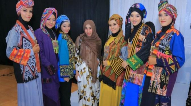Menarik!, Model Muslimah Warnai TCP Fashion Fest 2019
