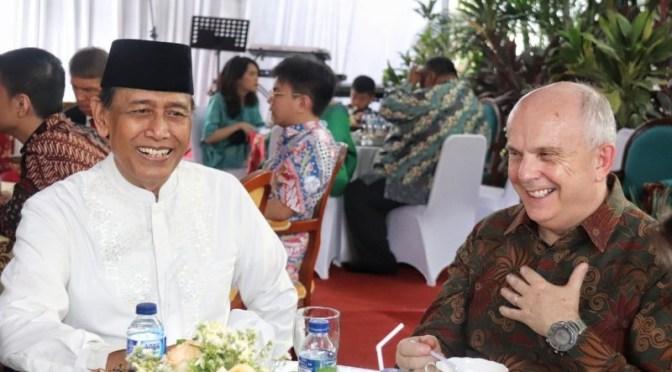 Silahturahmi Idul Fitri, Dubes AS Apresiasi Keamanan Indonesia