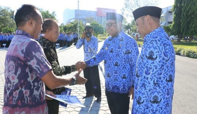 Gubernur VBL Pinta ASN Pemprov NTT Tingkatkan Kualitas Diri