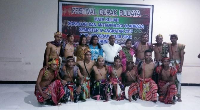 PJKR Unkris Kupang Budayakan Olahraga Melalui Gerak Budaya