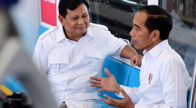 'Pertemuan Seorang Saudara' antara Presiden Jokowi & Prabowo Subianto