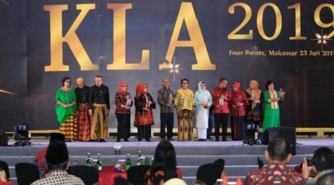 Tiga Kota Raih Penghargaan Kota Layak Anak Kategori Utama