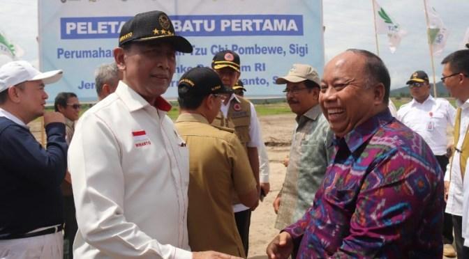 Usai Bangun Huntara, Pemerintah Realisasi Bangun Hunian Tetap di Palu