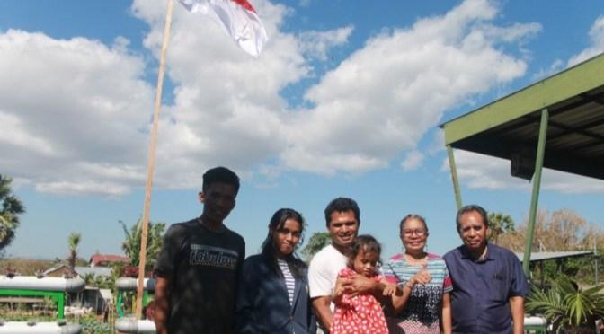 Mahasiswa Magang Faperta Undana Gapai Cara Bertani Terpadu di Lahan Kering