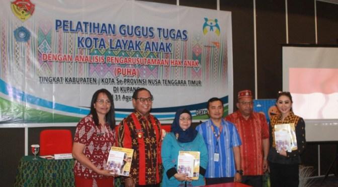 Wahana Visi Indonesia & Dinas PPPA NTT Inisiasi Kabupaten Layak Anak