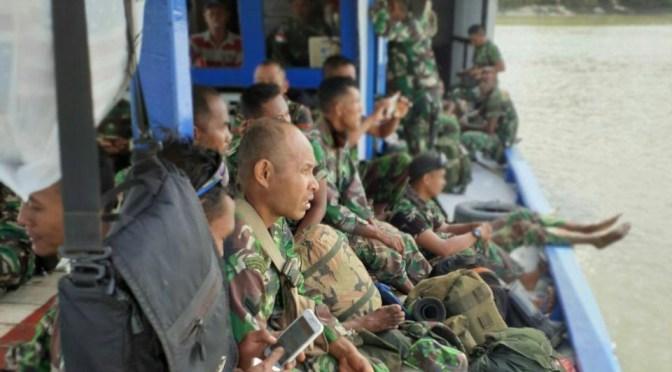 Liku Perjalanan Satgas TMMD Ke-106 Menggapai Kampung Kogir di Papua