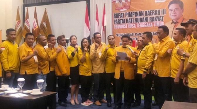 DPD Hanura NTT Sepakat Dorong Oesman Sapta Odang Kembali Pimpin Hanura
