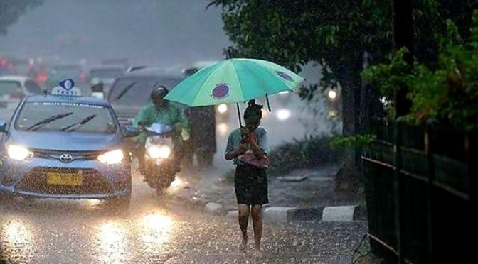 Waspada Potensi Hujan Lebat Sepekan Ke Depan pada 11—17 November 2019