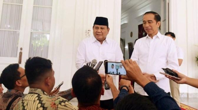 Prabowo Subianto Optimistis dengan Rencana Besar Presiden Jokowi