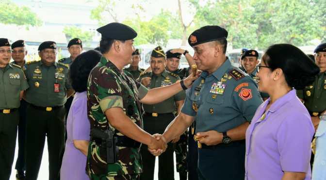 Panglima TNI : 41 Perwira Tinggi TNI Naik Pangkat