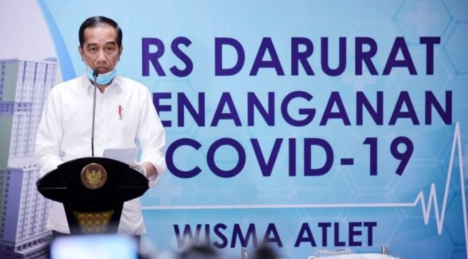 Tenaga Medis Pasien Korona Wafat, Presiden Jokowi Berbelasungkawa
