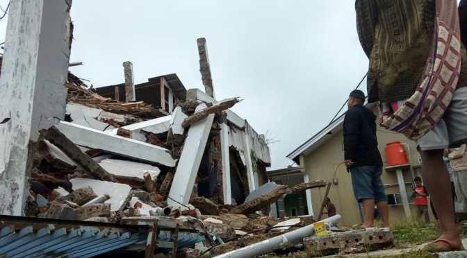 Dua Kali Gempa Bumi Guncang Sukabumi, Sejumlah Rumah Rusak