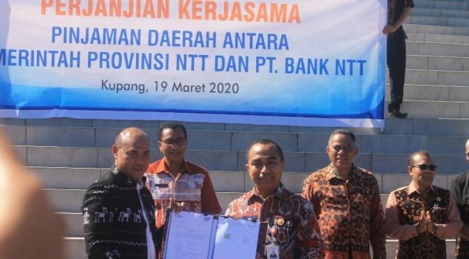 Bank NTT Kucurkan Pinjaman Daerah Rp.150 Miliar bagi Pemprov NTT