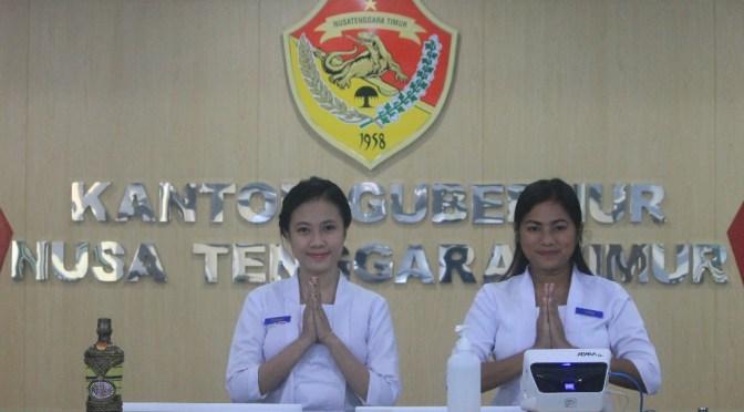 Wajah Baru 'Front Office' Gedung Sasando Kantor Gubernur NTT