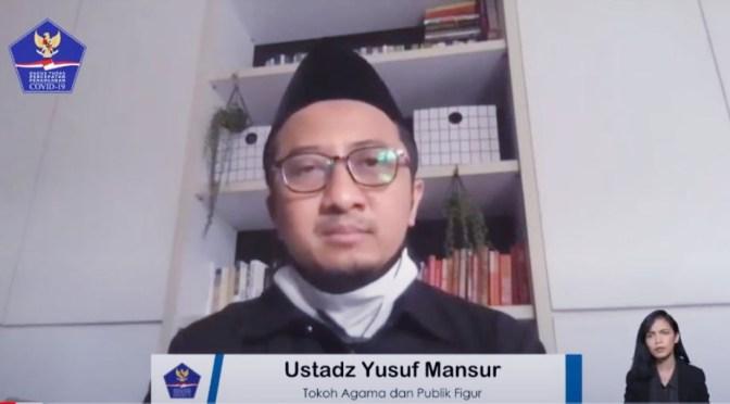 Yusuf Mansur : Berpikir dan Berperilaku Positif Menghadapi Covid-19