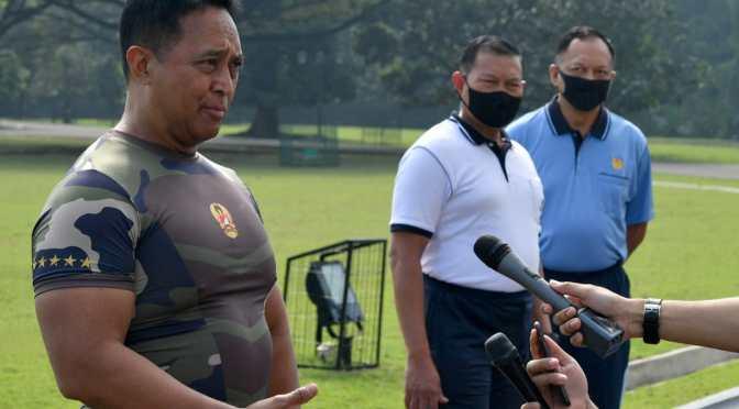 Tiga Kepala Staf TNI Siap Dukung Penerapan Adaptasi 'New Normal'