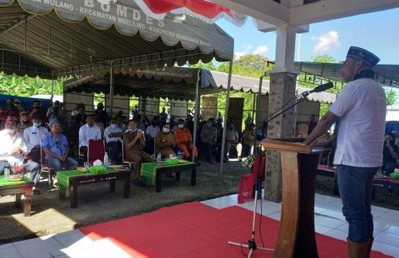 Tatap Muka dengan Warga Cunca Wulang, Gubernur VBL : Pakai Riset Bangun NTT