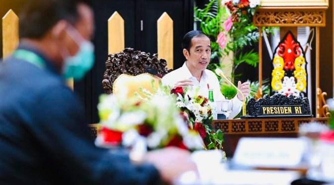 Presiden Jokowi Minta Daerah Jangan Anggap Enteng Pandemi Covid-19