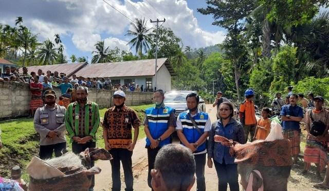 Empat Desa Terpencil di Kabupaten Timor Tengah Selatan Nikmati Aliran Listrik