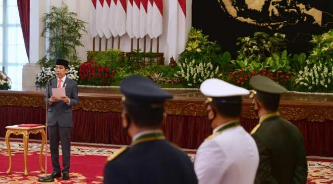 Tujuh Arahan Presiden Jokowi pada HUT Ke-74 Bhayangkara