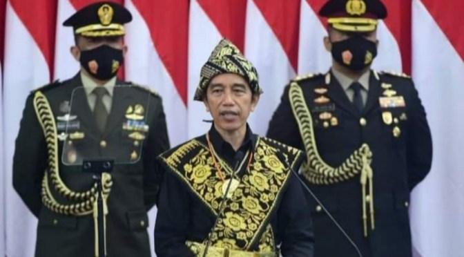Presiden Jokowi: Usia 75 Tahun RI untuk Lahirkan Lompatan Besar