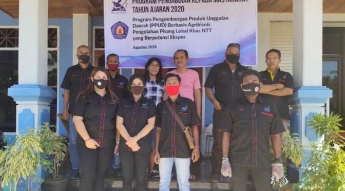 Politeknik Negeri Kupang Konsisten Bantu Usaha Dodol Pisang Legit Sari