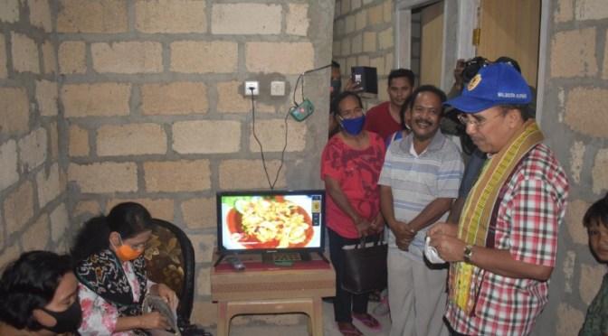 Warga Kuanino Apresiasi Program Bedah Rumah Pemkot Kupang