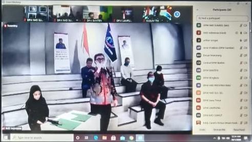 IMO-Indonesia Kukuhkan Delapan Dewan Pimpinan Wilayah di Tengah Pandemi