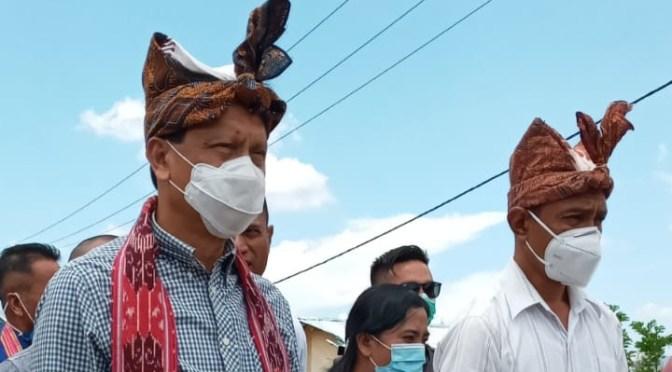 Agus Taolin Sebut 28% Cakupan Air Bersih di Belu Ditangani Pamsimas