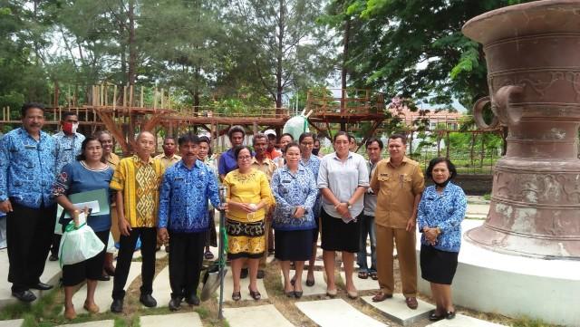 Transfer Keahlian Bertaman, Biro Umum Setda NTT Helat Lomba Tata Taman