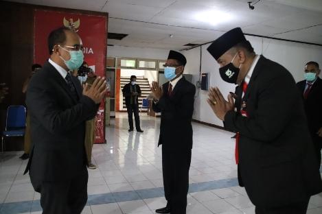 Wali Kota Kupang Lantik Enam Pejabat PTP dan Lima Pejabat Fungsional
