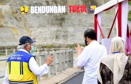 Dibangun Sejak 2014, Bendungan Tukul di Pacitan Diresmikan Presiden Jokowi