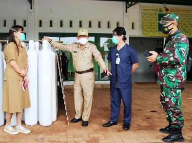10 RS di Kota Kupang Dapat Jatah 300 Tabung Oksigen dari Pemprov NTT