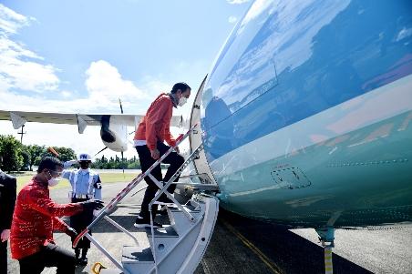 Berada di Toraja, Jokowi Resmikan Bandara Toraja & Bandara Pantar Alor