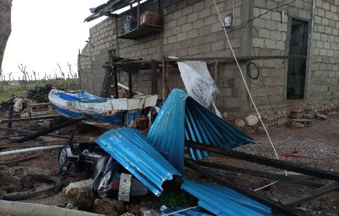 Badai Siklon Lulu Lantak Sabu Raijua, Porak Poranda Rumah & Kantor
