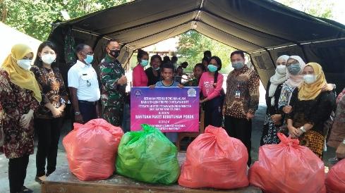 PIPEBI Peduli Korban Badai Seroja di Desa Tuapukan & Pukdale Kab Kupang