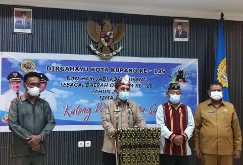 HUT Ke-135 Kota Kupang, Pemkot Urai Penanganan Covid-19 & Badai Seroja