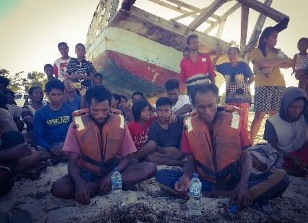 Hilang Lima Hari, Dua Nelayan Sabu Raijua Pulang dengan Selamat