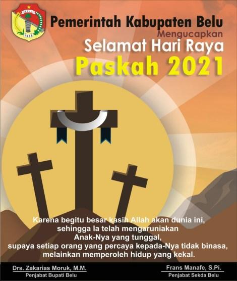 Selamat Paskah 2021 -- Pemda Belu