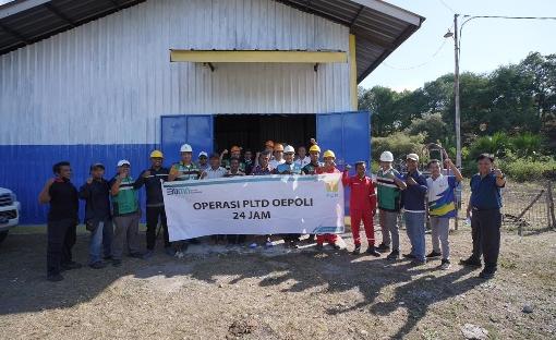 Listrik Nyala 24 Jam di Batas NTT-Timor Leste, Warga Ucap Terima Kasih