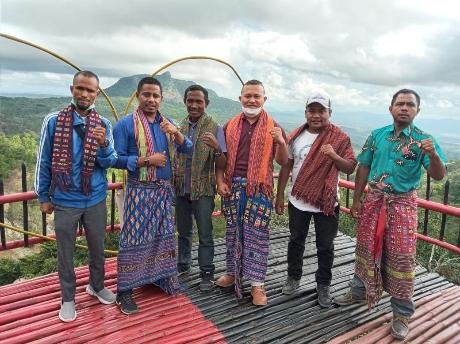 Anggota DPRD Belu Resmikan Destinasi Wisata Mini Raiulun di Raimanuk